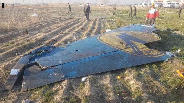 """إيران تعترف بإسقاط الطائرة الأوكرانية """"دون قصد"""".. هذا ما قاله الجيش"""