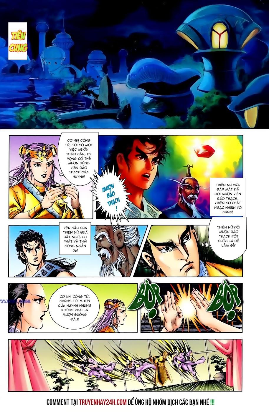 Cơ Phát Khai Chu Bản chapter 108 trang 18