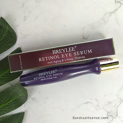 Review Breylee Retinol eye Serum