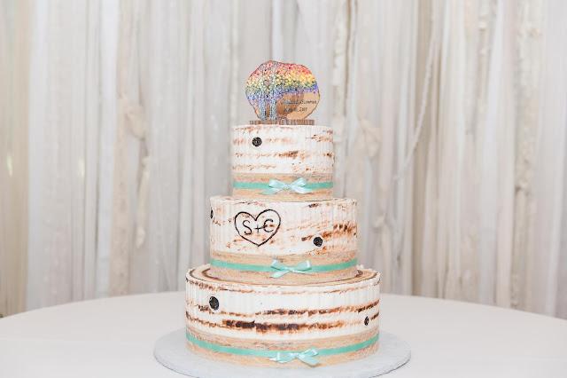 Cake at a Shenandoah Mill Lesbian Wedding in Gilbert, AZ