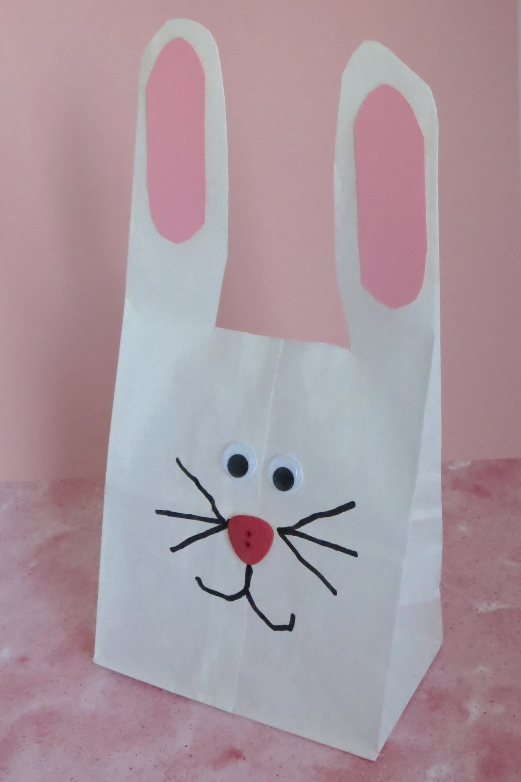 Cindy Derosier My Creative Life Bunny Week Day 2 Paper Bag Bunny