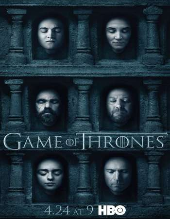 Poster Of Game of Thrones S06E04 300MB HDTV 720p x265 HEVC Free Download Watch Online At Worldfree4u
