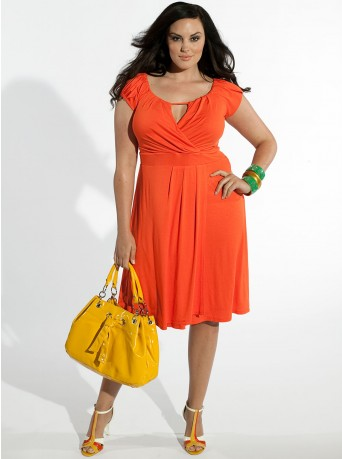 b442091263 Orange Summer Dress ~ Latest Women Fashion http   shestyleside ...