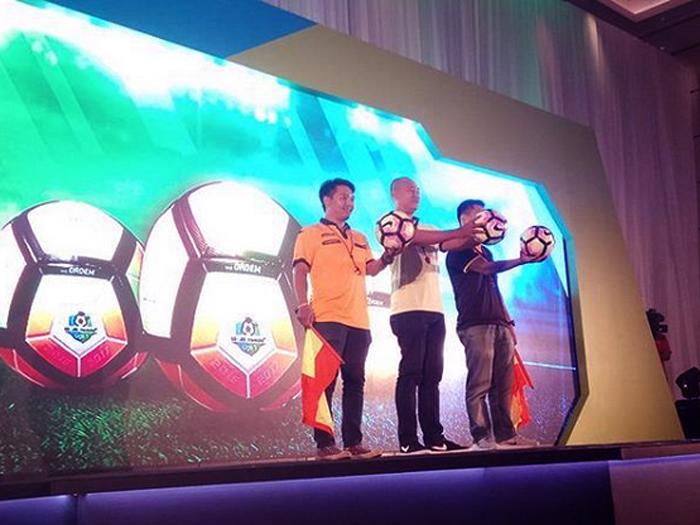 Launching Gojek Traveloka Liga 1 di Jakarta