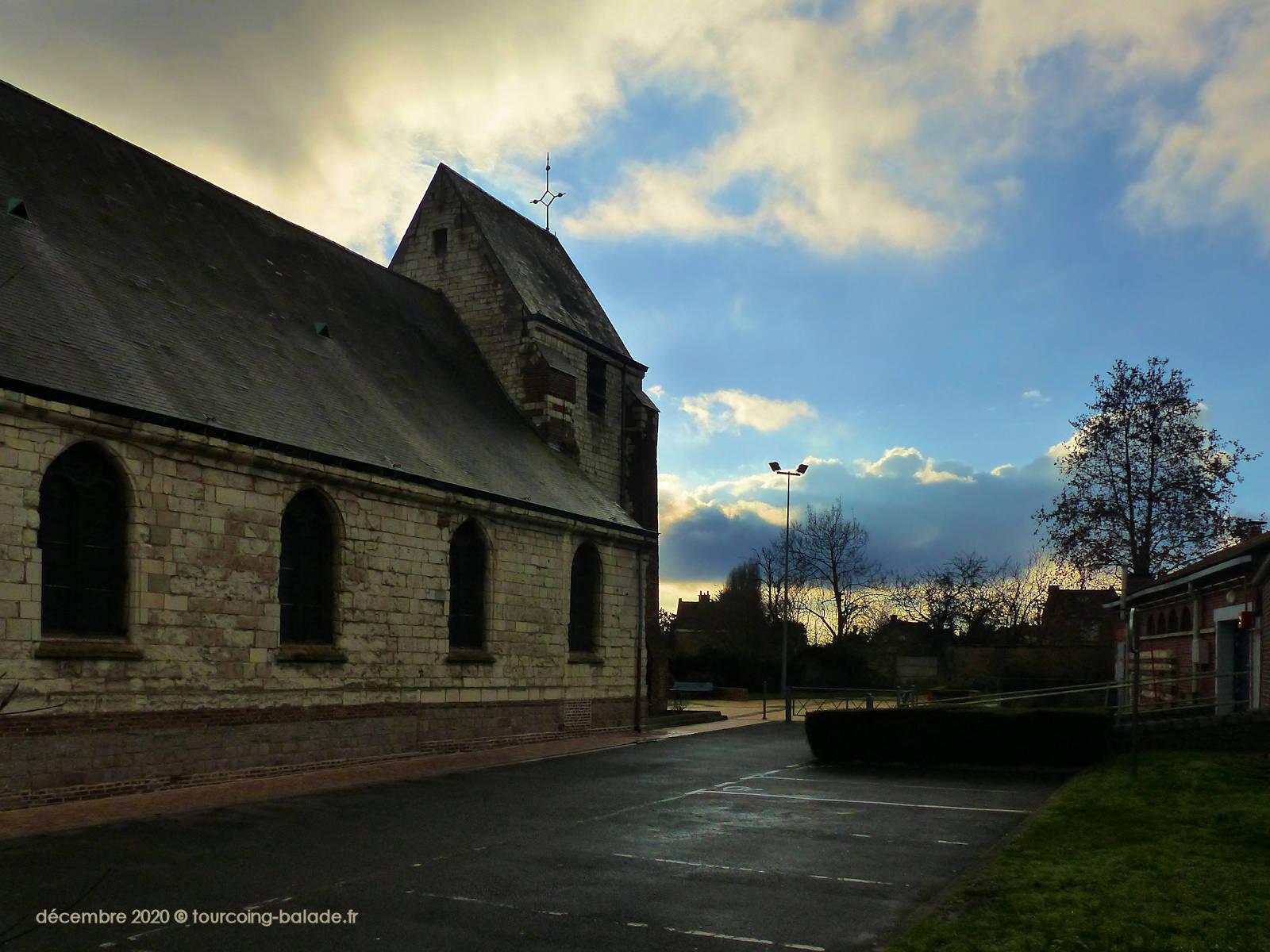 Faches-Thumesnil Hiver 2020 - église Sainte Marguerite