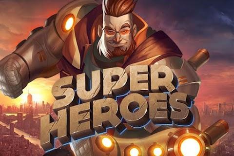 Main Gratis Slot Super Heroes (Yggdrasil) | 96.10% RTP