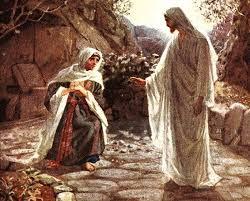 Rozważania wielkanocne - Ukazanie się Zmartwychwstałego Marii Magdalenie