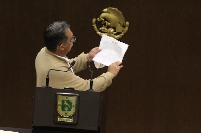 diputado del PRD, Alejandro Cuevas Mena. Foto Antonio Sánchez