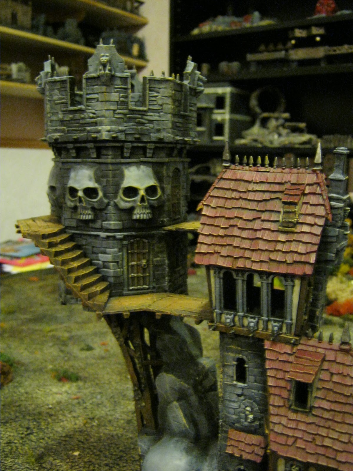 The Last Chance War On The Painting Table Skullvane Manse