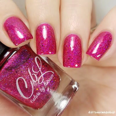 Colors By Llarowe On The Naughty List The Whole Christmas Shebang Swatches and Review