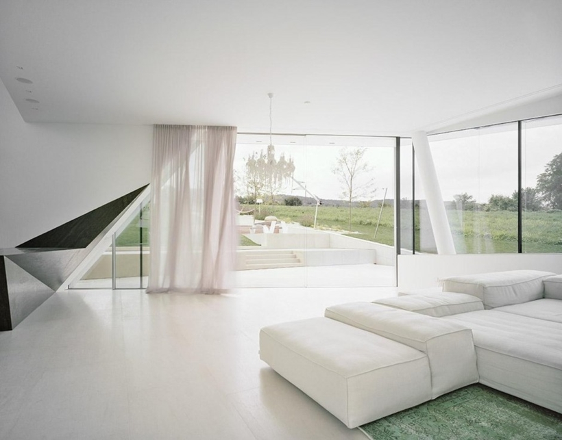 Interior of Villa Freundorf by Project A01 Architects