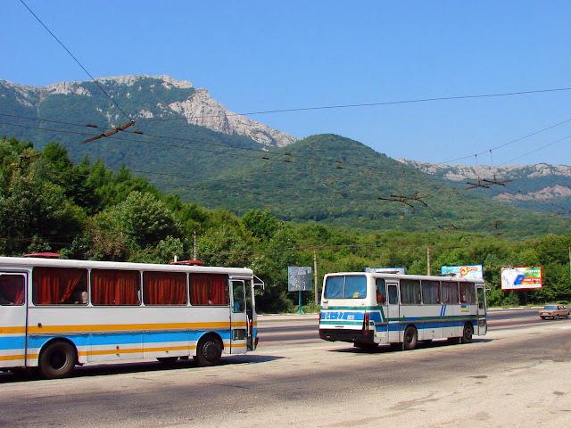 Ангарский перевал. Вид на Чатырдаг
