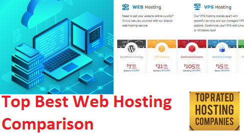 Top Best Web Hosting Comparison |The Best Web Host