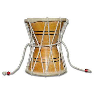 DronaCraft Damroo Hand Percussion Handmade Indian Musical Instrument