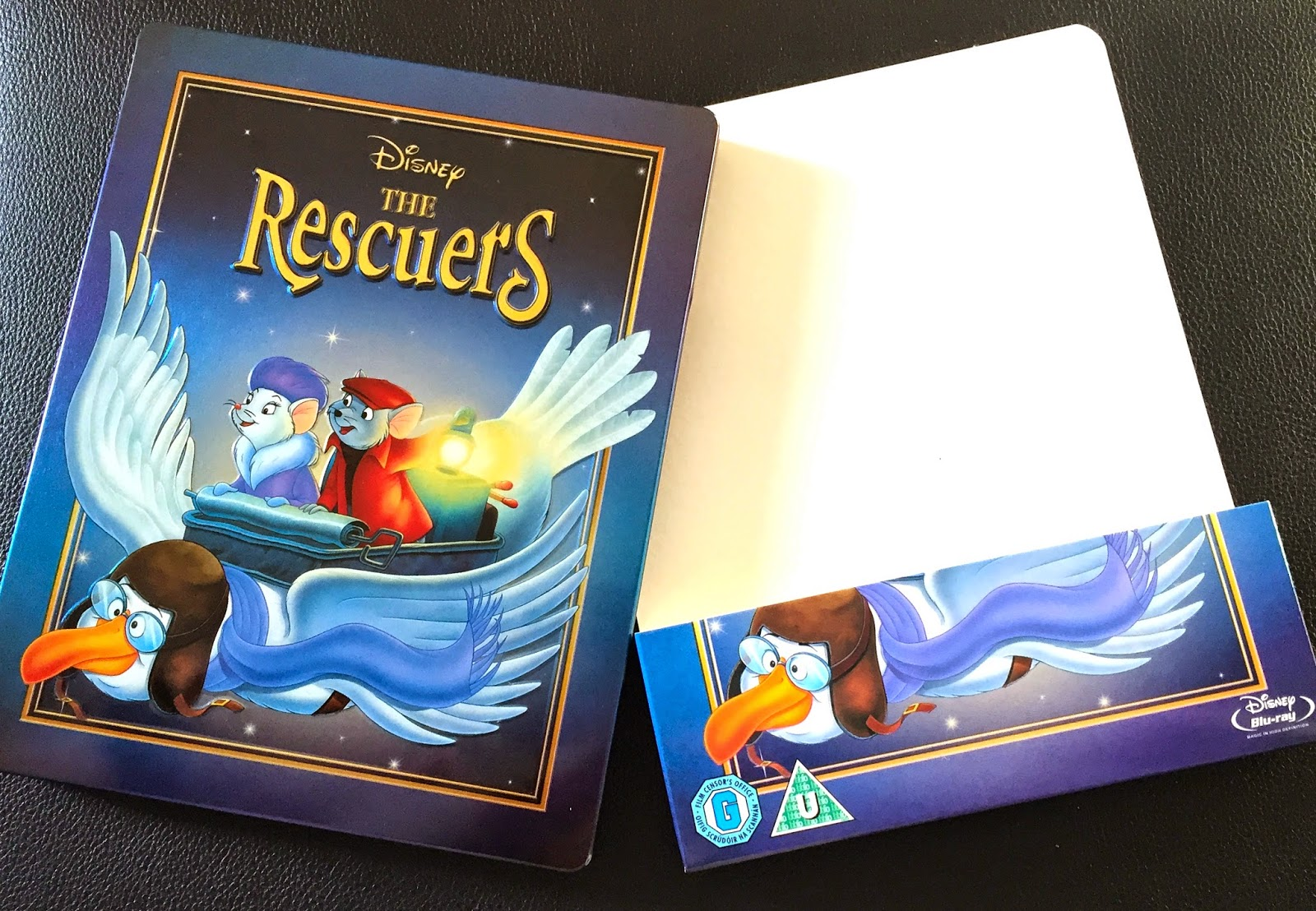 The Rescuers Blu-ray