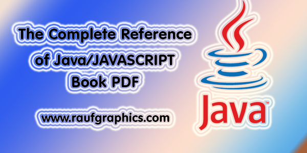 The Complete Reference of Java Download full Pdf Free