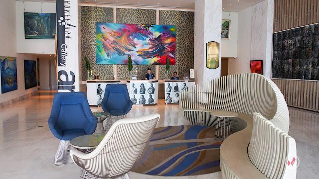 Hotel Lobby Novotel Phuket Phokeethra