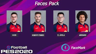 PES 2020 Facepack V2 by Mark