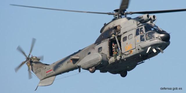 Autorizada la adquisición de un nuevo helicóptero Super Puma SAR