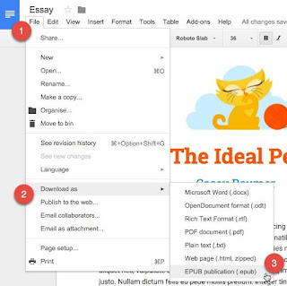 How to Make E-Books with Google Docs