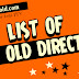 List of PTV Old Directors
