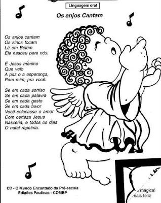 Música de Natal Os anjos cantam