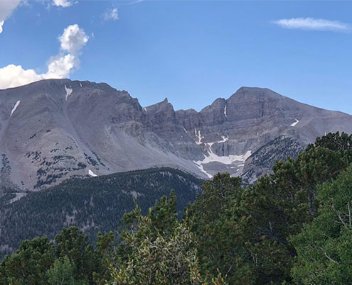 Glaciers in Great Basin National Park (Source: Palmia Observatory)