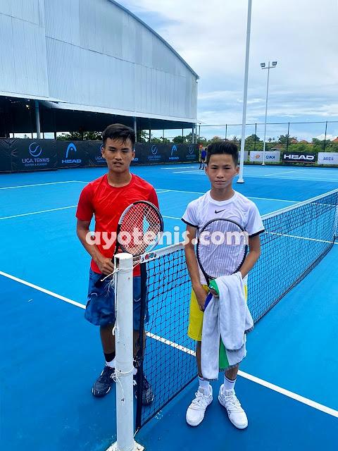 Tumbangkan Unggulan, Ingvar Melaju ke Perempatfinal Liga.Tennis National Junior Championship