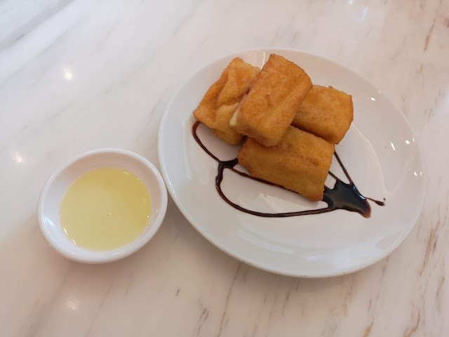 Savoury French Toast Bites