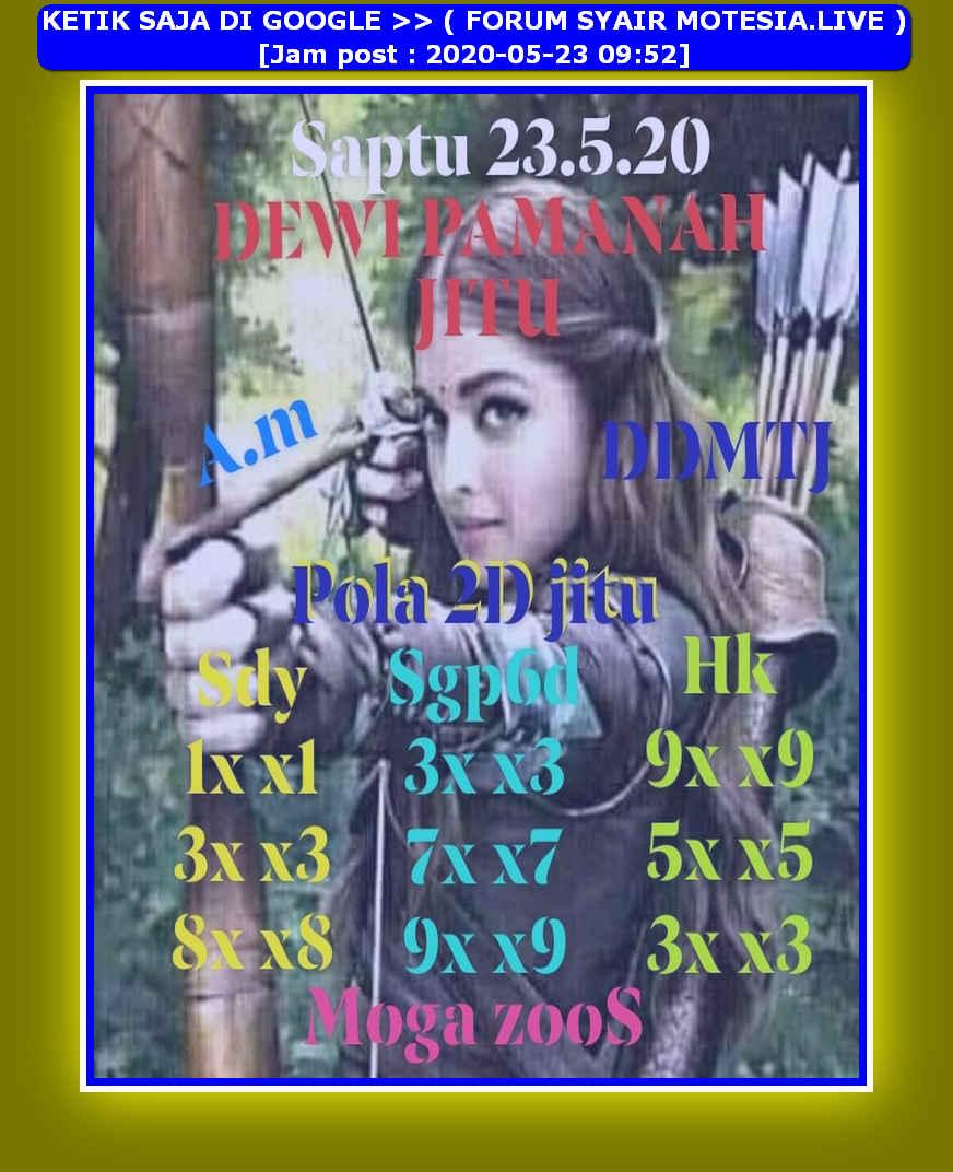 Kode syair Sydney Sabtu 23 Mei 2020 49