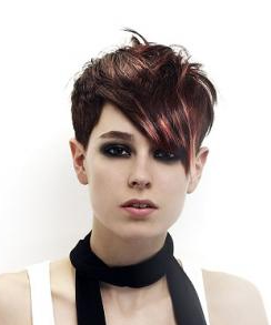 Girl's Punk Hairstyles