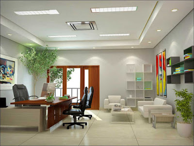 Thiết kế nội thất phòng giám đốc theo phong cách trẻ trung