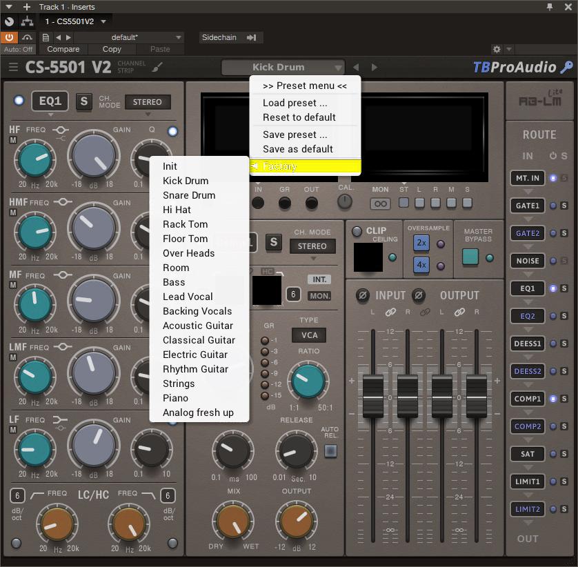 TBProAudio - CS-5501