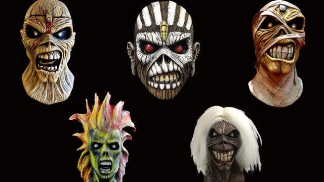 IRON MAIDEN: Επίσημες μάσκες του Eddie για το Halloween
