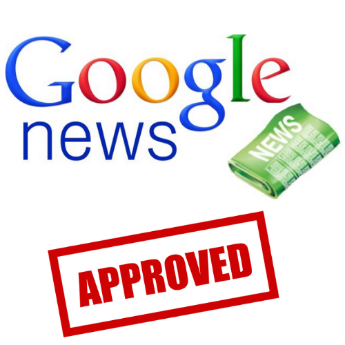 Google News Publisher Approved
