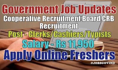 CRB Recruitment 2021