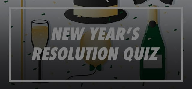 New Years Resolution Quiz Answers