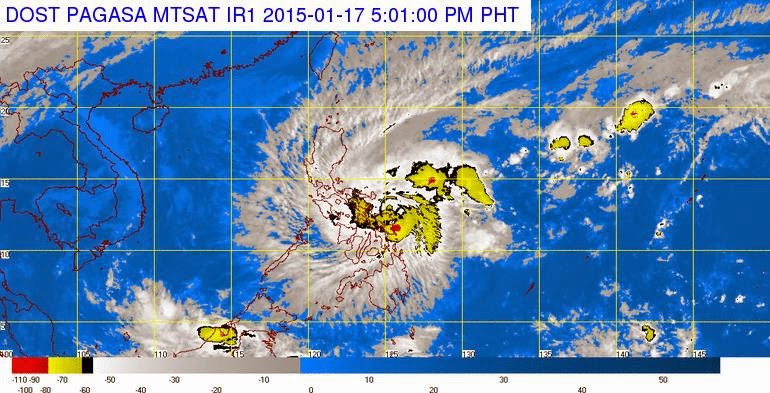 'Bagyong Amang' makes landfall in Dolores, Samar; Signal No. 1 up in Metro Manila