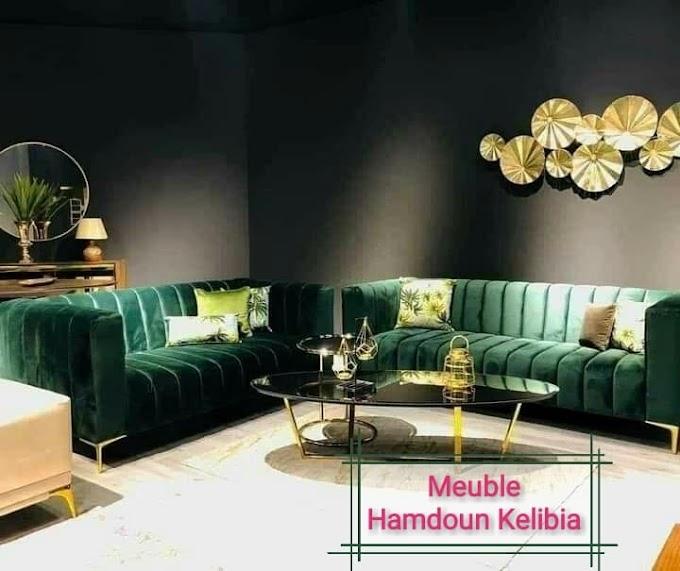salon s1 vert meuble hamdoun kelibia