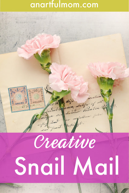 Ways to send creative snail mail