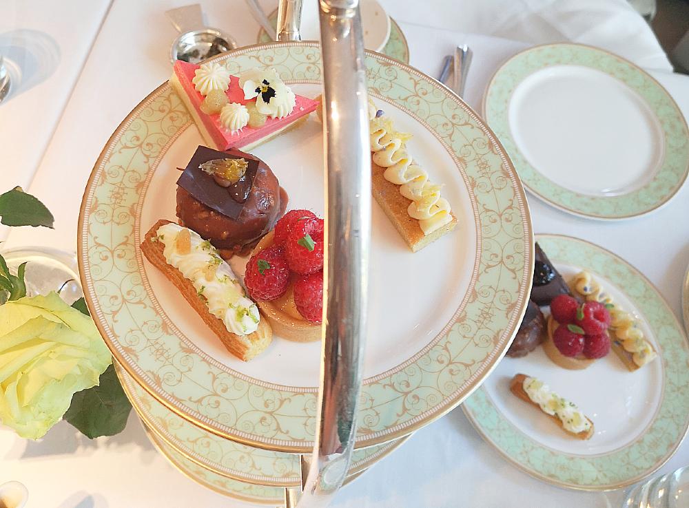 Afternoon tea desserts - park room