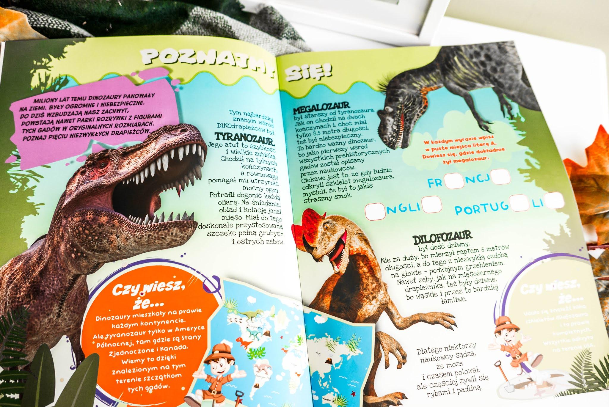 wszystko o dinozaurach