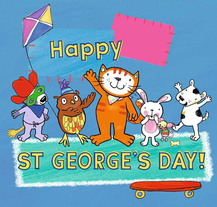 St. George's Day Wishes Unique Image