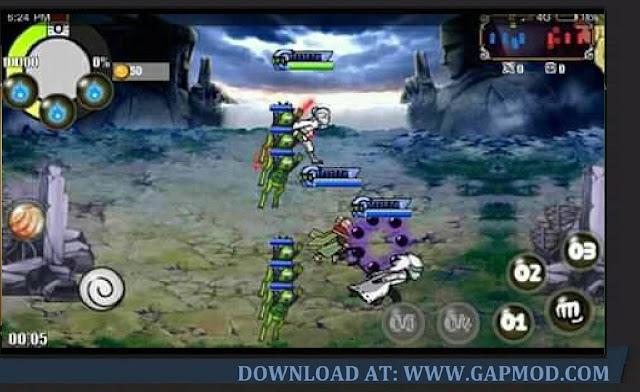 Download Naruto Senki 15 Strongest Kage VS Otsutsuki Apk