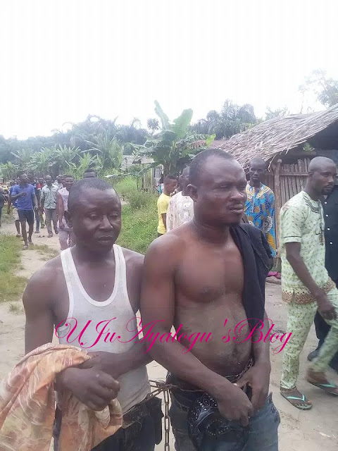 Alfa caught while trying to use this lady for rituals in Badagry, Lagos