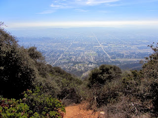 View south from Glendora Peak