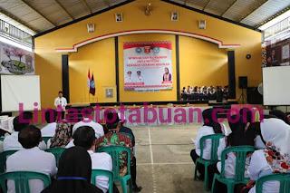 Bupati Lampung Barat Buka Workshop Literasi Sekolah