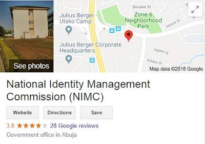 National Identity Management Commission Recruitment Login 2018/2019 | NIMC Career