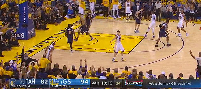 HIGHLIGHTS: Golden State Warriors vs. Utah Jazz (VIDEO) Game 2 / West Semis