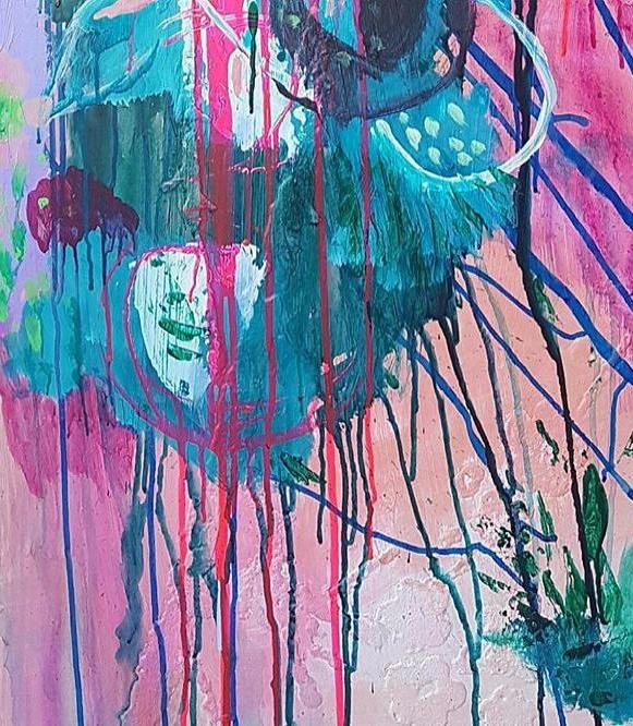 Kumpulan Gambar Lukisan Abstrak Yang Kreatif Dan Unik Punya 1001 Makna